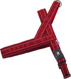Hurtta Casual Padded Harness - Lingon (Rood)_
