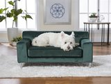 Enchanted hondenmand / sofa martine emerald groen_