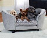 Enchanted hondenmand / sofa constantine zilverkleurig_