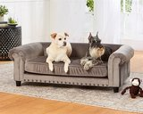 Enchanted hondenmand / sofa manchester grijs_