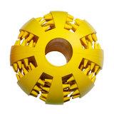 Dental massage ball - Geel_