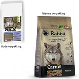 Carnis Geperste brok Rabbit - Small - 4kg_
