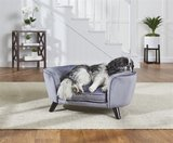 Enchanted hondenmand / sofa romy pewter grijs_