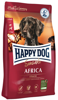 Happy Dog Sensible Africa - Struisvogel - 12,5 kg