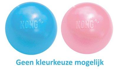 Kong puppy bal met gat assorti