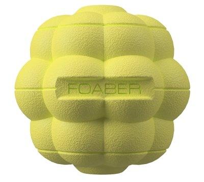 Foaber bump bal voerbal foam / rubber groen