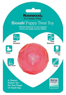 Biosafe puppy snack bal roze