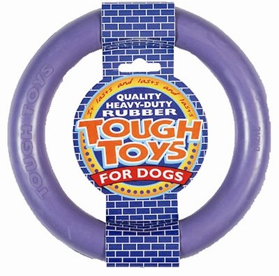 Happy pet tough toy rubber ring