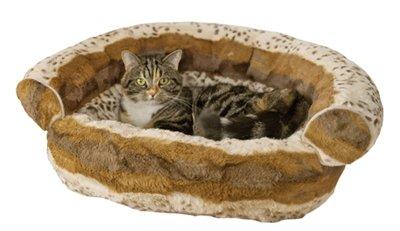 Rosewood hondenmand sofa hyena bruin