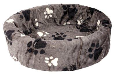 Petcomfort hondenmand bont grijs grote poot