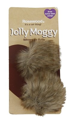 Jolly moggy silvervine ballen