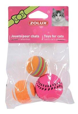 Zolux kattenspeelgoed ballen assorti