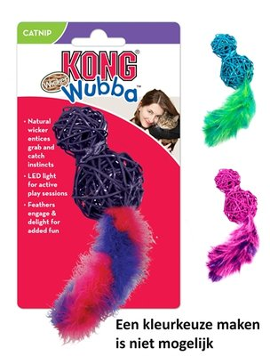 Kong wubba wicker assorti