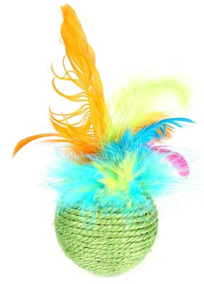 Happy pet cat 'n' caboodle tropical feather roller