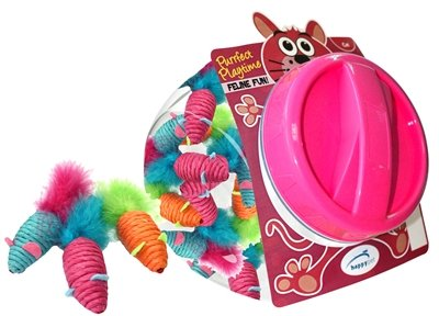happy pet carnaval muis display 24 stuks