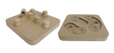 Croci intelligentie speelgoed 2 in 1 hout