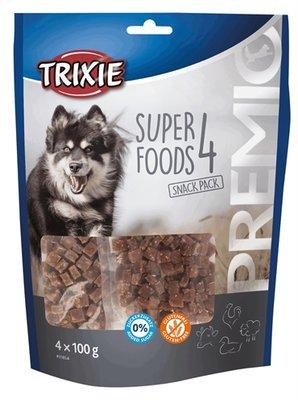 Trixie premio superfoods kip / eend / rund / lam