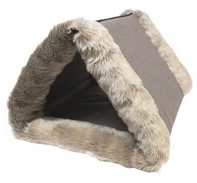 Hugs kattenmand iglo pepi grijs