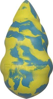 Foaber comet foam / rubber blauw / groen