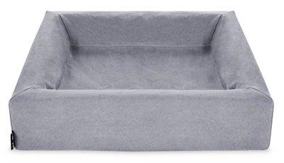 Bia bed cotton overtrek hondenmand grijs