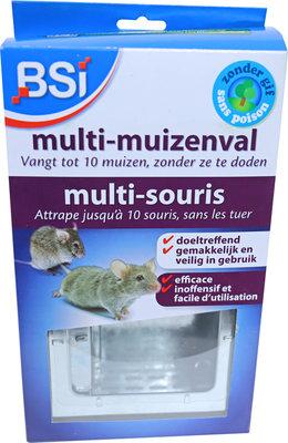 BSI Multi-muizenval metaal