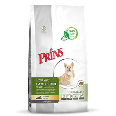 Prins ProCare Croque Lamb & Rice Hypoallergic Senior - 10kg
