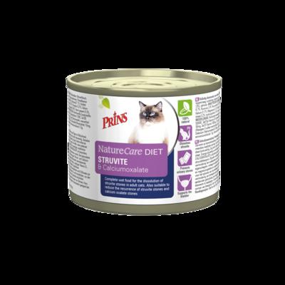 Prins NatureCare DIET Cat Struvite & Calciumoxalate - 200g