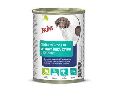 Prins NatureCare Diet Dog Weight Reduction & Diabetic - 400g