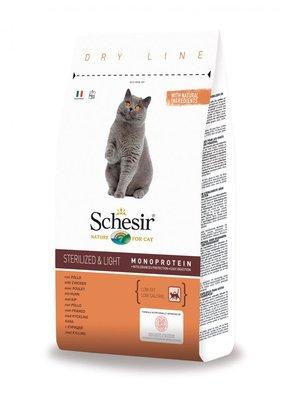 Schesir Kattenbrokken Sterilized / Overweight - 10kg