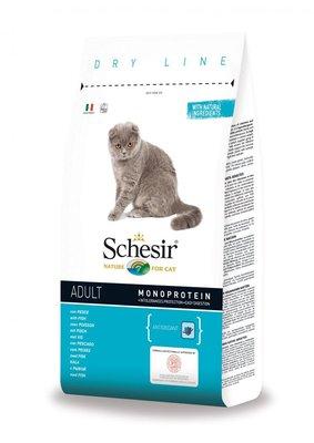 Schesir Kattenbrokken Adult Vis - 400g