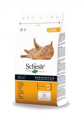 Schesir Kattenbrokken Adult Kip - 10kg
