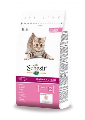 Schesir Kattenbrokken Kitten - 400g
