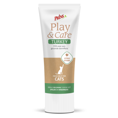 Prins Play & Care Cat Turkey - 75g