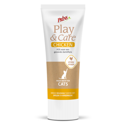 Prins Play & Care Cat Chicken - 75g