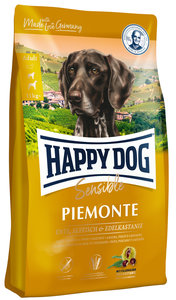 Happy Dog Sensible Piemonte - Eend & Kastanje - 10 kg