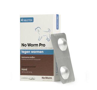 No Worm Pro Kleine Hond & Puppy 0.5 tot 10 kg - 4 tabletten