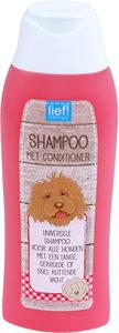 Lief! Shampoo met Conditioner voor langharige honden - 300 ml