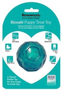 Biosafe puppy snack bal blauw
