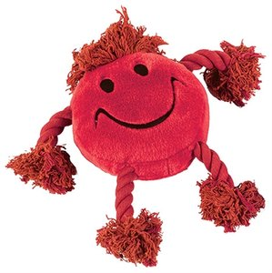 Happy pet happy faces pluche smiley rood