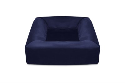 Bia bed royal fluweel hoes hondenmand navy