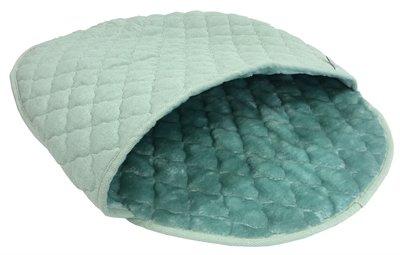 Noseys cats kattenmand slaapzak ice turquoise ovaal