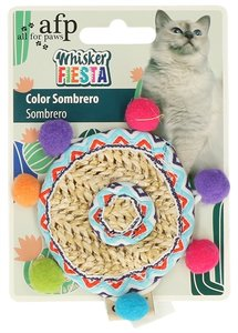 Afp whisker fiesta kleur sombrero