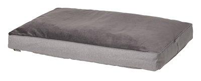 Woefwoef hondenkussen lounge oxford outdoor velvet grijs