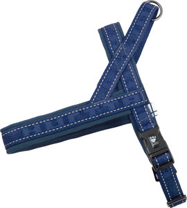 Hurtta Casual Padded Harness - River (Blauw)
