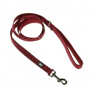 Hurtta Casual Leash 180cm x 20mm - Lingon (Rood)