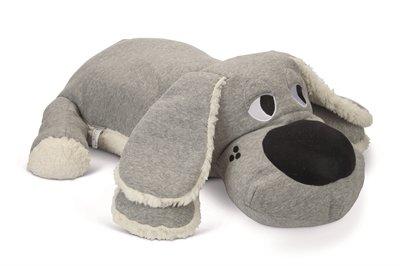 Beeztees puppy knuffel boomba grijs
