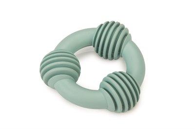 Beeztees puppy dental ring rubber groen