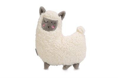 Beeztees puppy knuffel lama wit