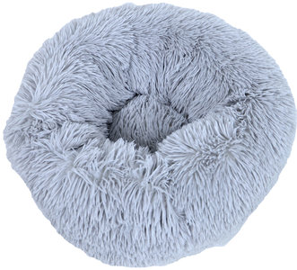 Mand Donut Supersoft 50 cm - Licht grijs