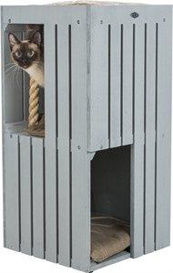Trixie be nordic cat tower juna grijs